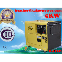 Small Genset China Brand Diesel Generator 5kw Air Cooled